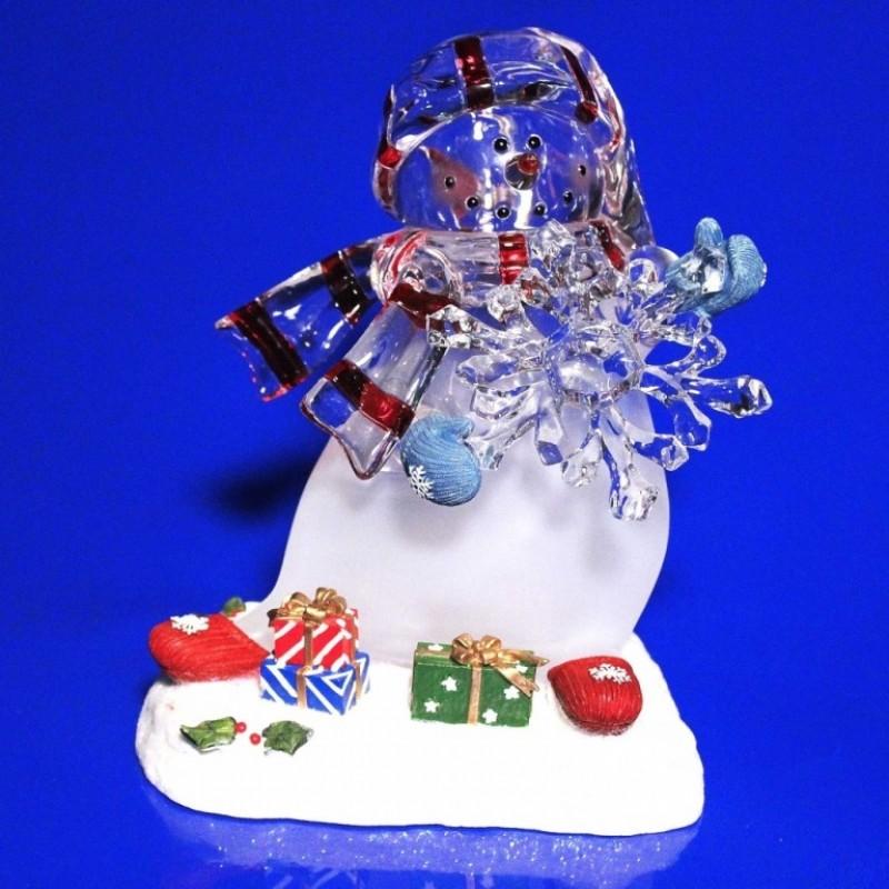 AK8315  (1-8) Снеговик со светом 16*14*20
