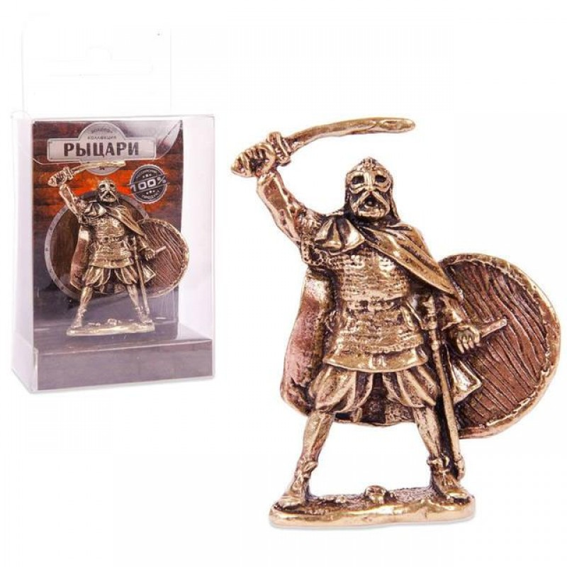 150389 Фигурка из бронзы литая Федерат, 1:32,  4.5cm [CRU-10]