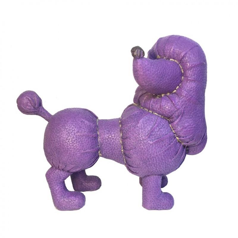 9F-2448L  (6) Фигурка собака Пудель  16*13*6см