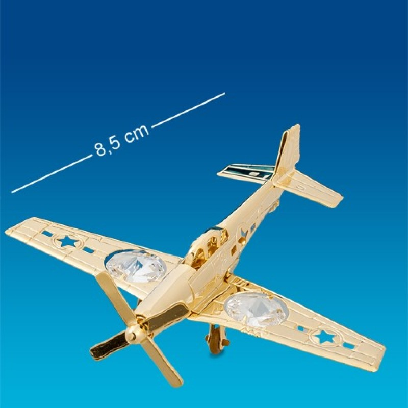 Swarovski 1390 Фигурка Самолёт-истребитель