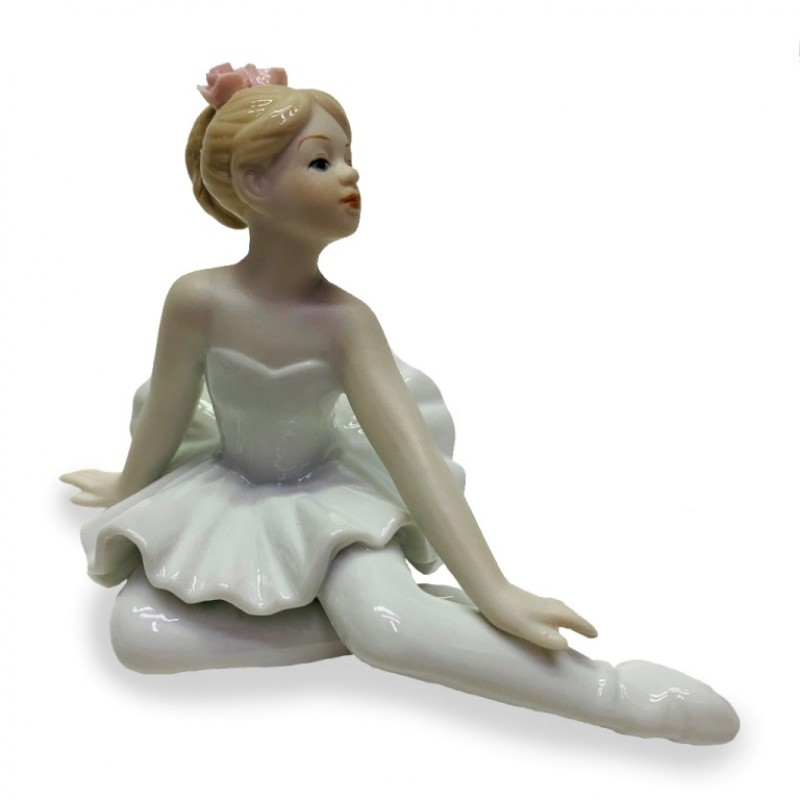 HP3188  (60) Балерина 13*7*9см фарфор