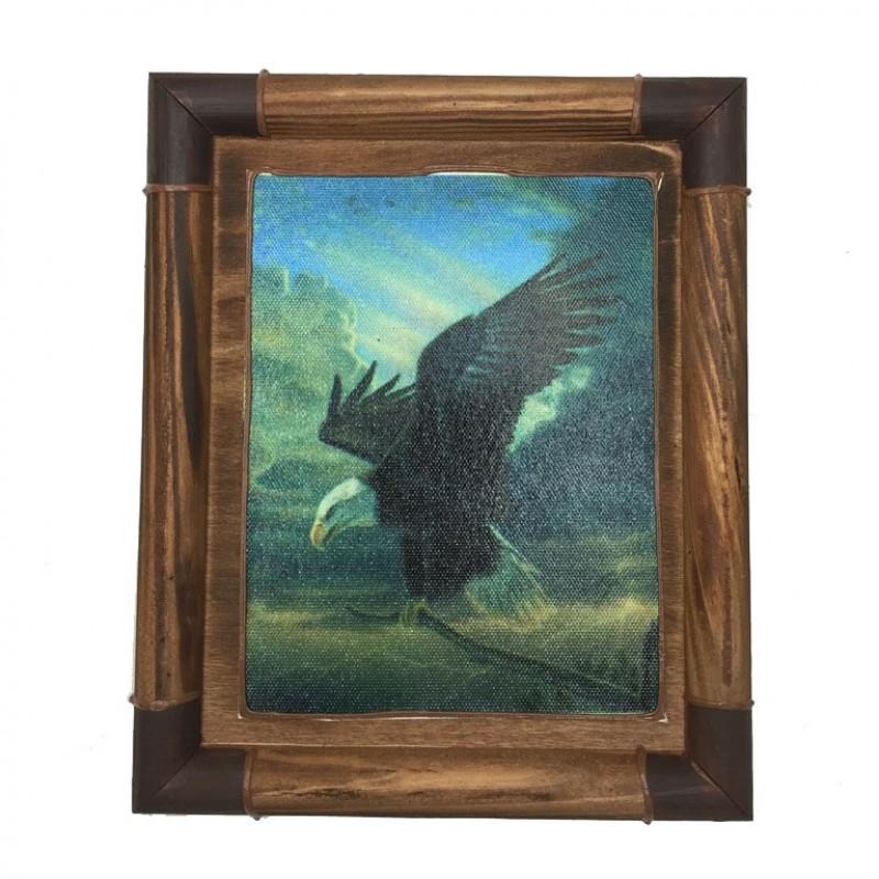 20313  (96)  Панно ловушка Орел,19*23см