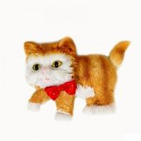 "HOL19430-33  (12-360) Фигурка ""Кошка Магнит"" 4 вида, полистоун, 7*2*6см"