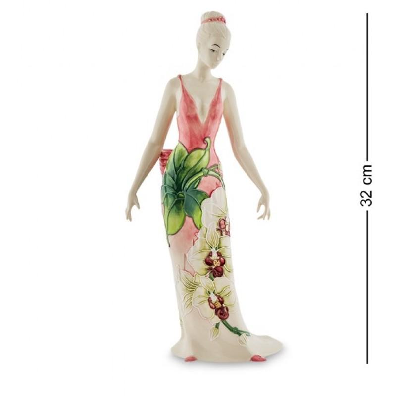 JP- 98/23 Статуэтка Девушка ''Орхидея'' (Pavone) h=32см