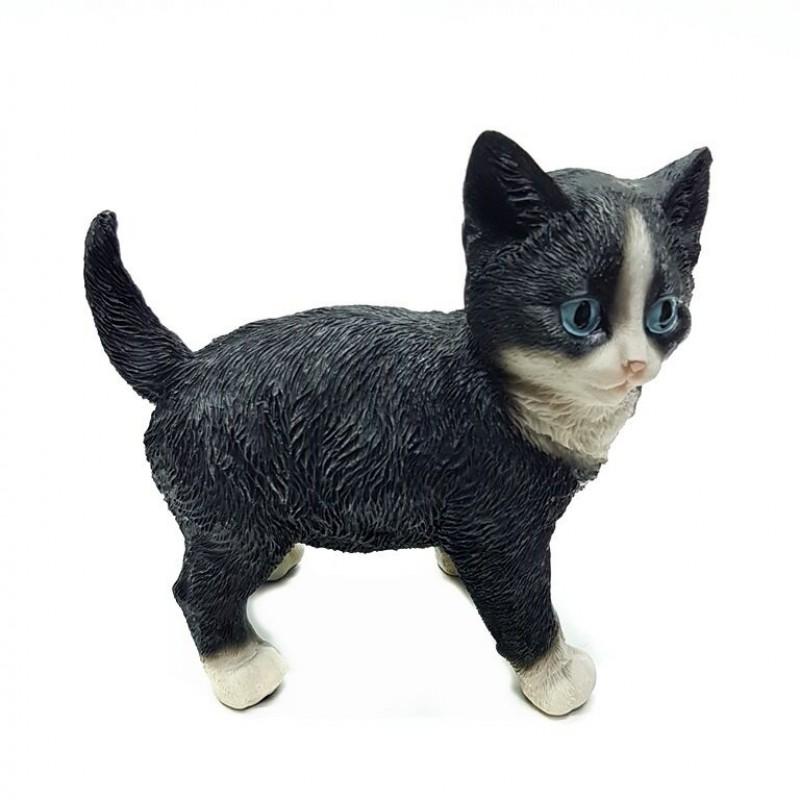 HOL20778  (1-18) Черный кот 14*8*13 см