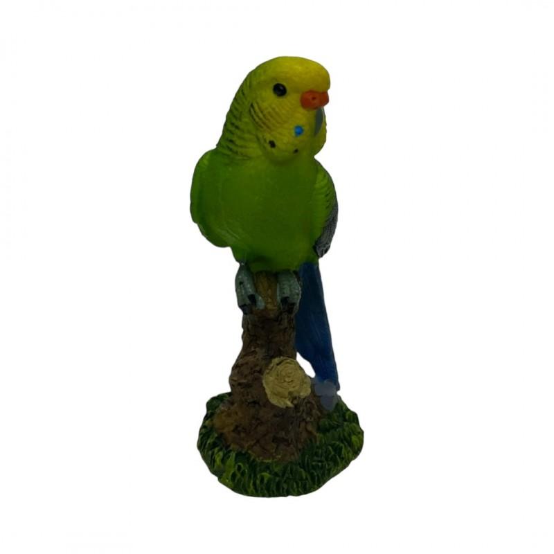 HOL21347  (12-144) Фигурка Попугай 5*5*11см