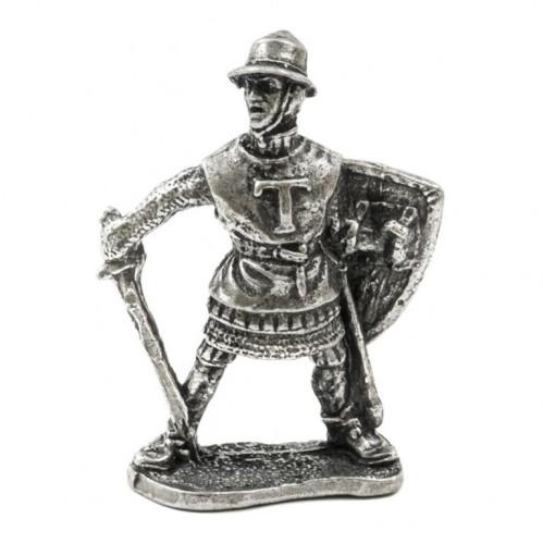 150624  Фигурка из олово, Рыцари
