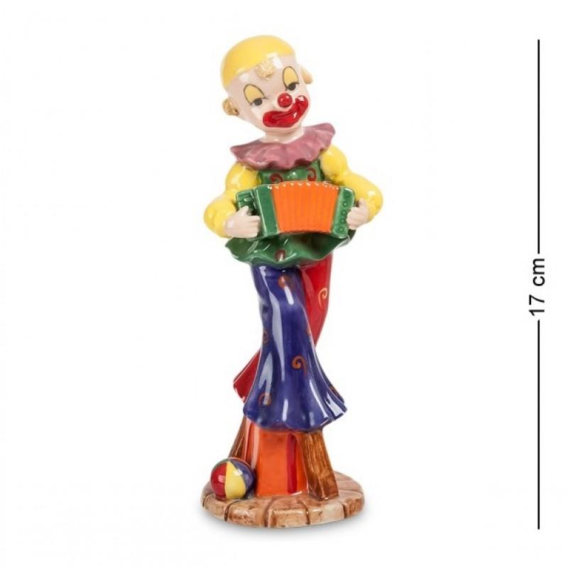 CMS-23/41 Фигурка ''Клоун с гармошкой'' (Pavone) 17см