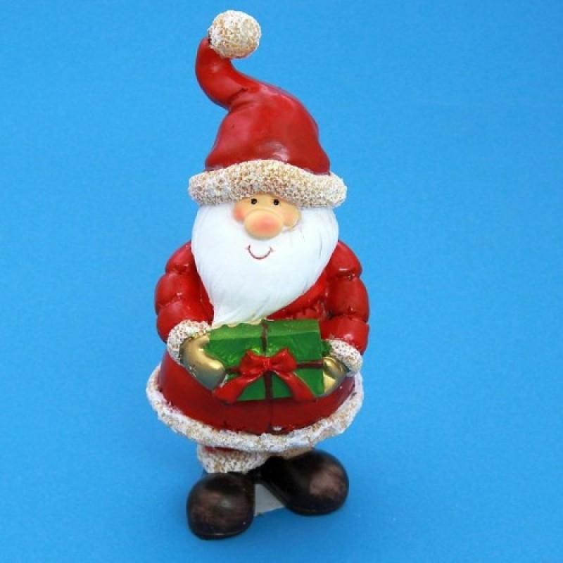 MY-15022  (24) Дед Мороз с подарком 10*9*20см.