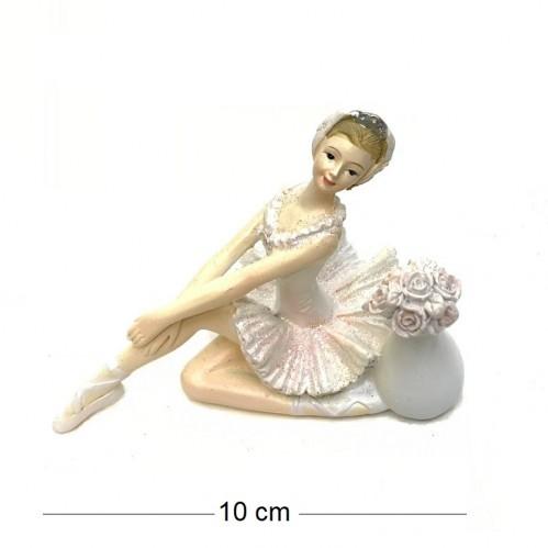 KEN78452  (4-96) Балерина 10*7*10см