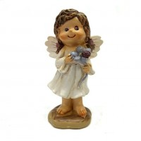 PLA17541  (1-96) Девочка-ангелочек 2вида 5*4*9см