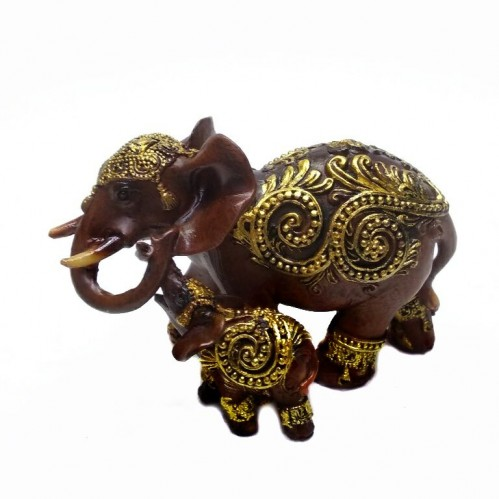 EPW32236  (1-72) Слоны 11*6*8см