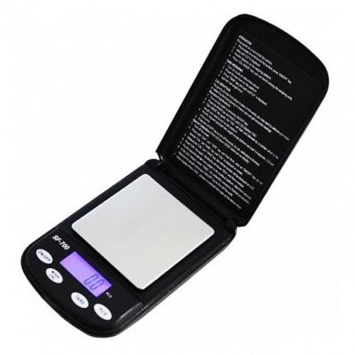 Весы электронные ювелирные SF-700 (с точностью 0,1 гр.-500 гр.) 12*8*2см