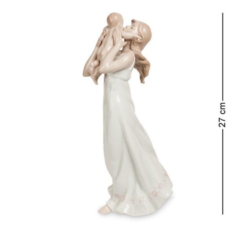 JP- 15/ 5  Женщина с младенцем (Pavone) 27см