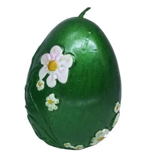 033005  (12-144) Свеча яйцо 6*6*8см