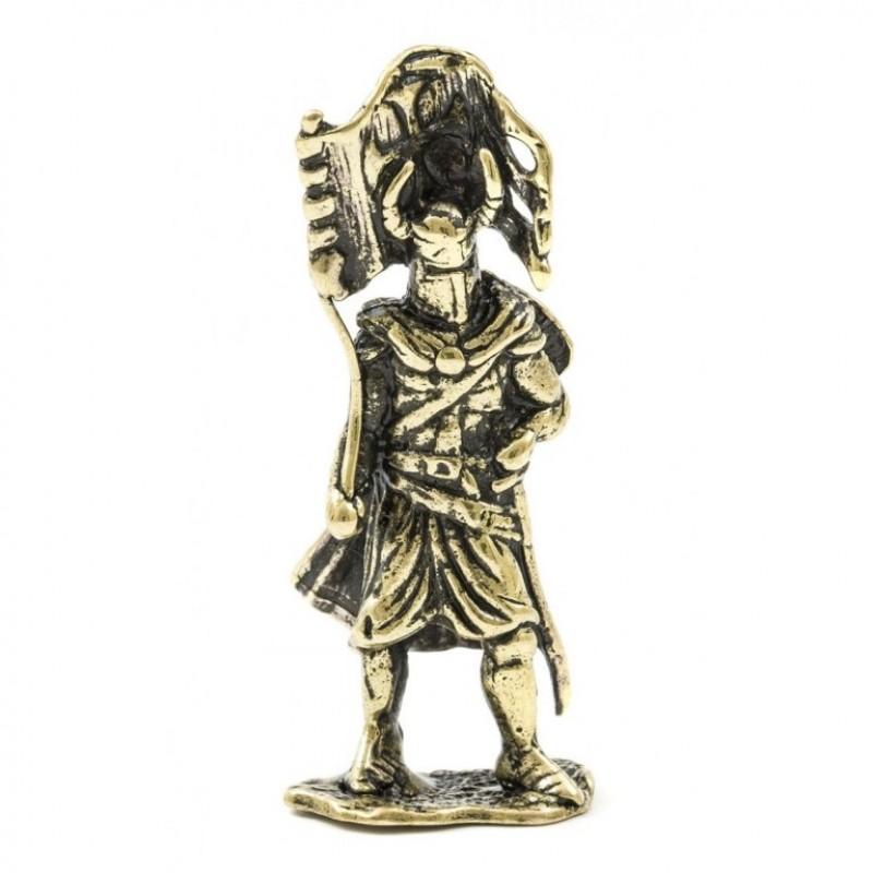 150297  Фигурка литая металлическая Баннерет, латунь в подарочной упаковке [CRU-01]