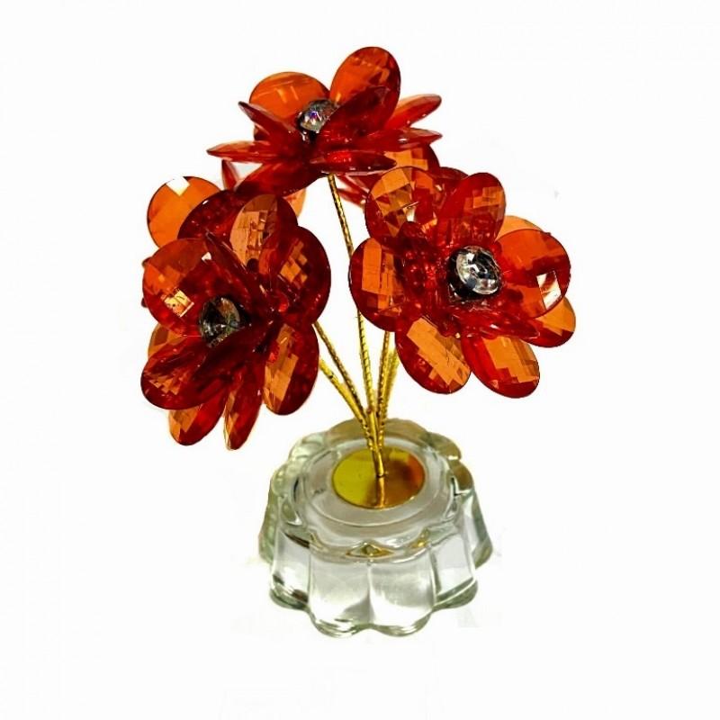 KL-.126  (160) Цветок из 5-и ветвей 6цв, 9см (HN-992)