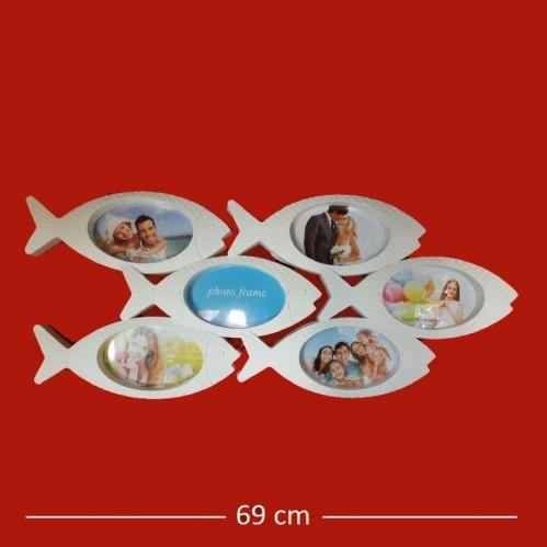 Фотоколлаж  Ат-  21  (24) 6ф. Рыбки  69*30см