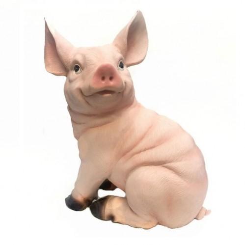 HOL21529  (1-6) Свинья 15*15*27см
