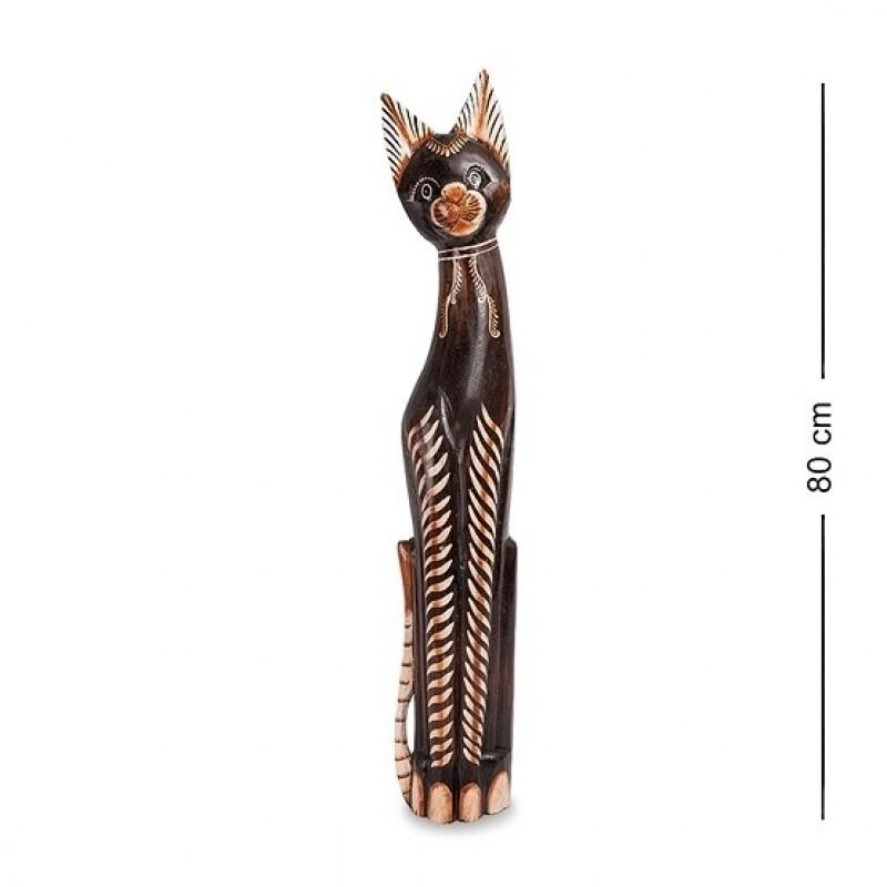 99-241 Статуэтка ''Кошка'' 80 см (албезия, о.Бали)