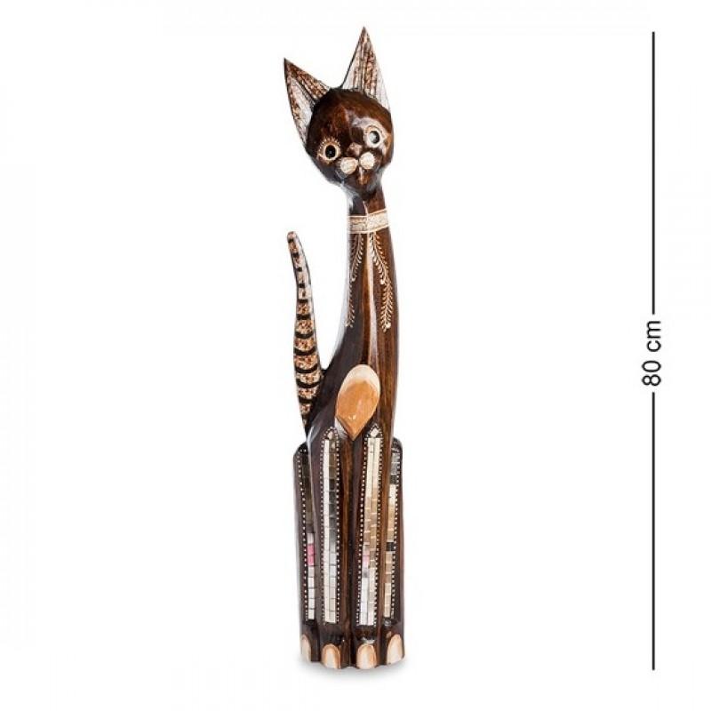 99-068 Фигуркка Кошка 80см (албезия, о.Бали)
