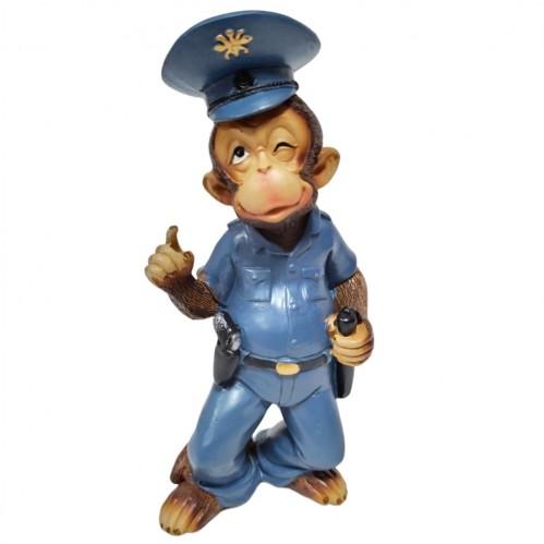 CNR65677  (1-72) Обезьяна - полицейский 6*4*14см