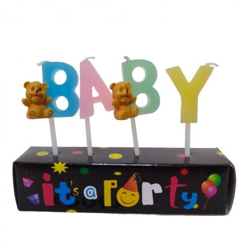 002010  (1-48) Свеча BABY  3*2*3см