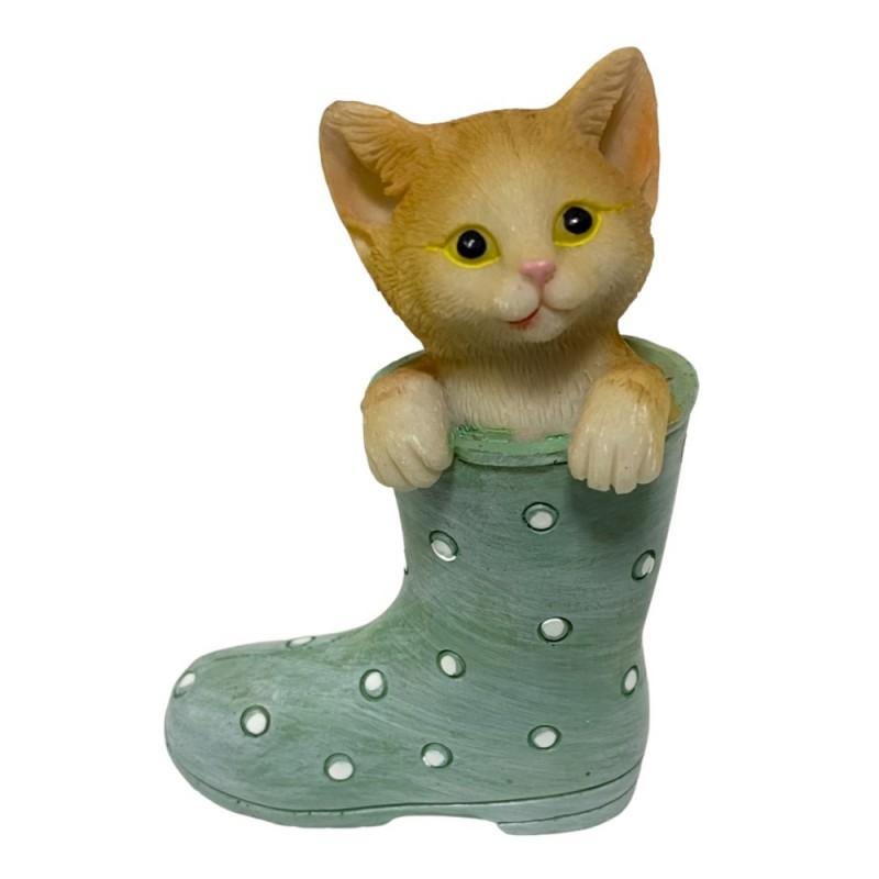 KEN78705  (6-144) Котенок в сапоге 7*3.5*10см