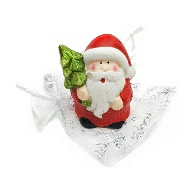 L54084  (24-288) Дед мороз в подарочном мешке 7см