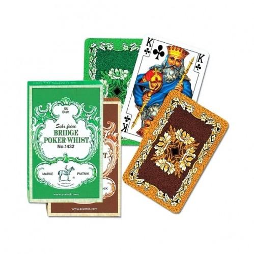 Карты игральные 1432 (12) Бридж-Покер-Вист 55л.