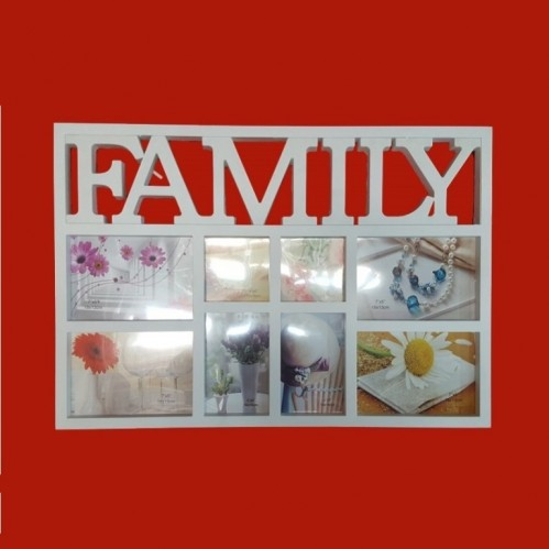 Фотоколлаж  Ат-1464-1  (1-18) 8фото Family 59*41см