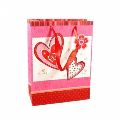 MML14420  (12-600) Пакеты - валентинка 18*24*8 см