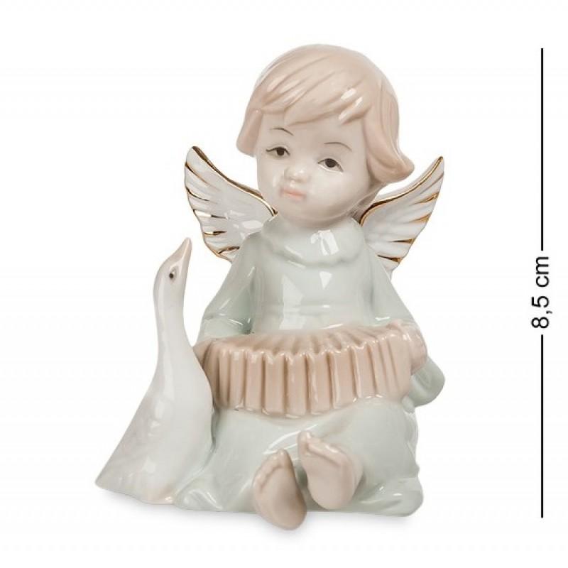 JP- 14/ 3 Фигурка ''Ангелочек-музыкант'' (Pavone) 8,5см