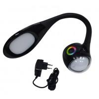 Настолная лампа LED с музыкой, BL-052  BlueTooth RGB 14*11*50см S-003-H