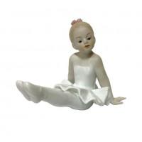 "HP3175  (60) Статуэтка ""Балерина"" фарфор 13*9см"
