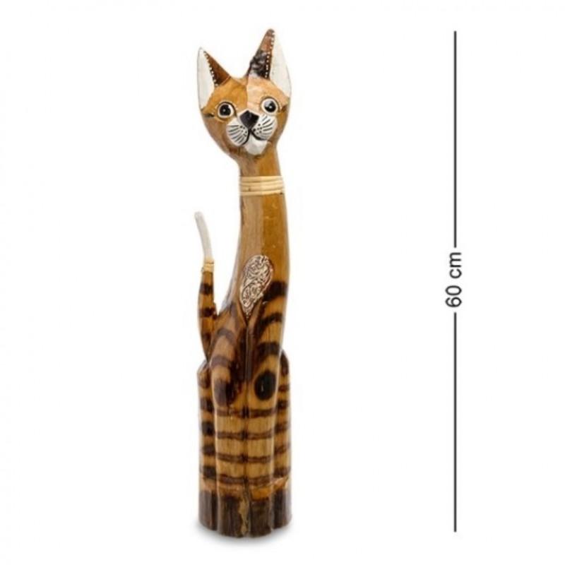 99-027 Фигурка Кошка 60см (албезия, о.Бали)