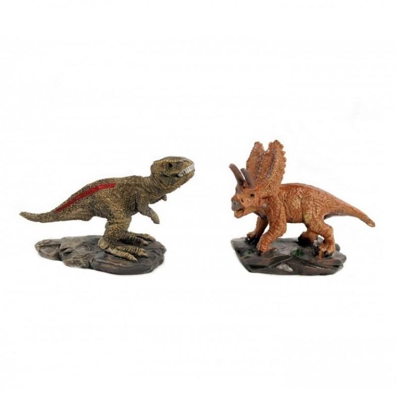 L-FK10372  (12-144) Фигурка Динозавр 2 вида, 6.5*2.5*4см