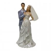 """PLA16912  (1-48) Статуэтка """"Свадебная пара""""  h=16см"""