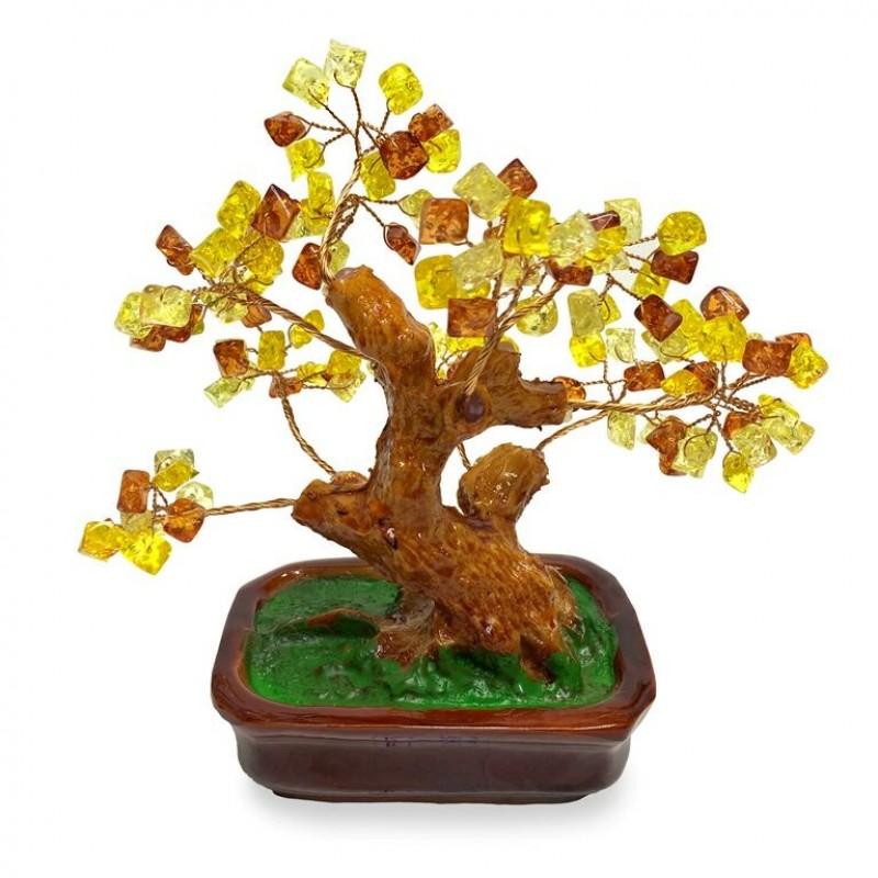 KL-.103  (54) Дерево янтарное h=20см