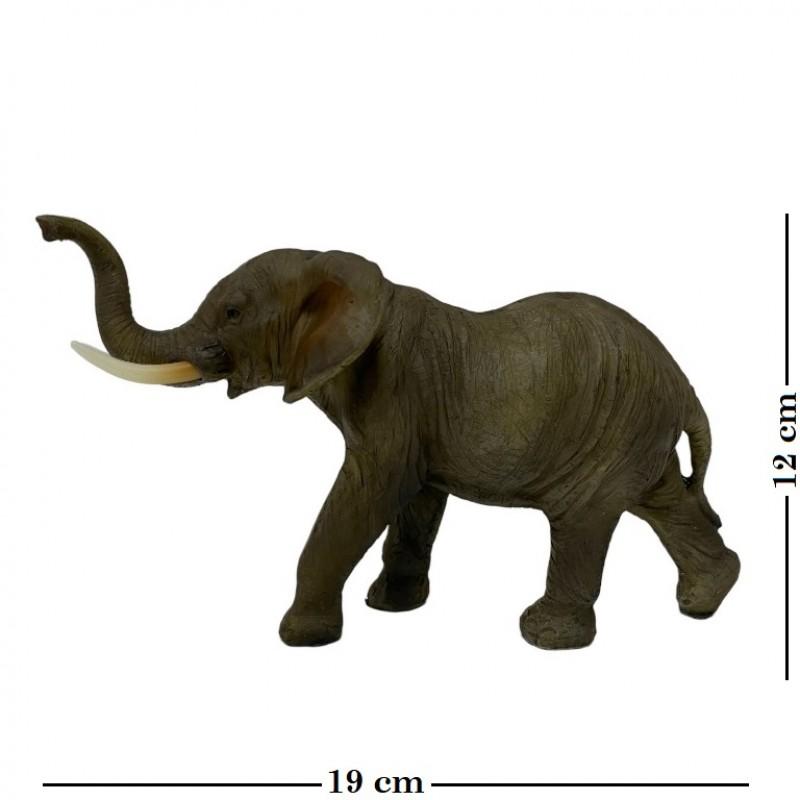 HOL21557  (1-12) Слон 19*7*12см