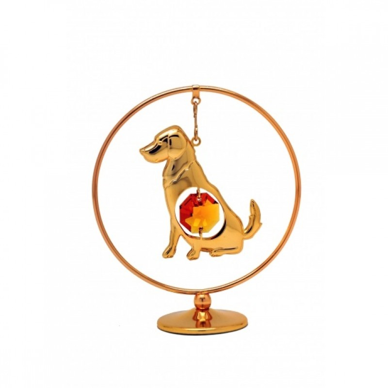 277-105-GTO  Собака в кольце