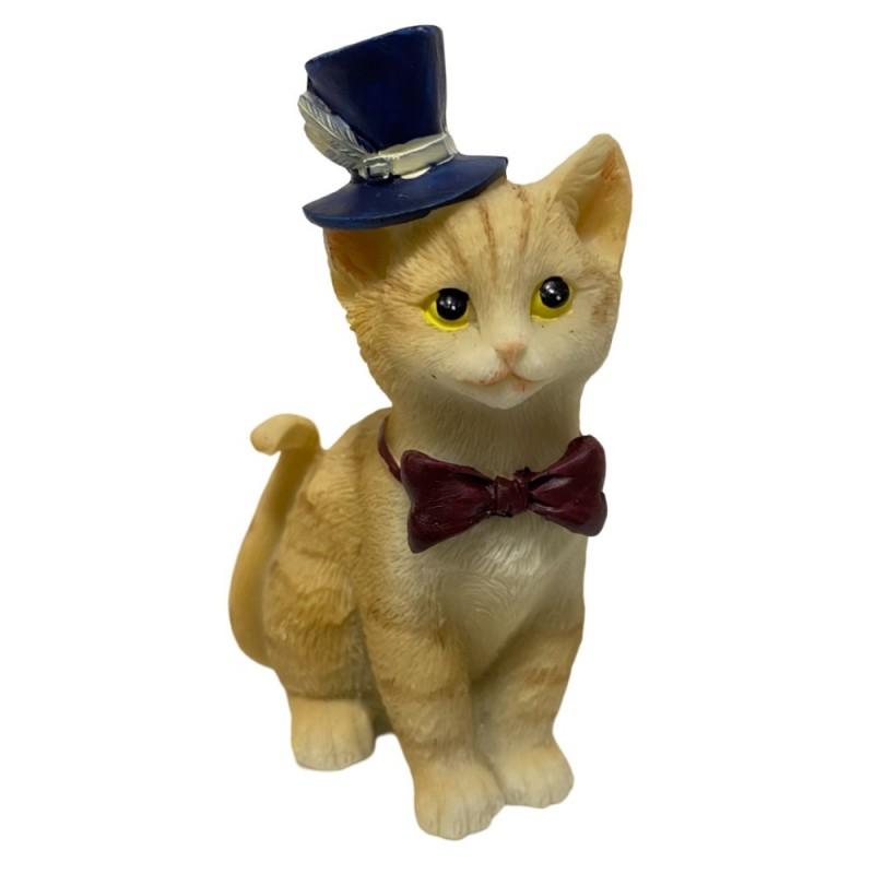 KEN78645  (6-144) Кошка в ассортименте 6*4*9 см