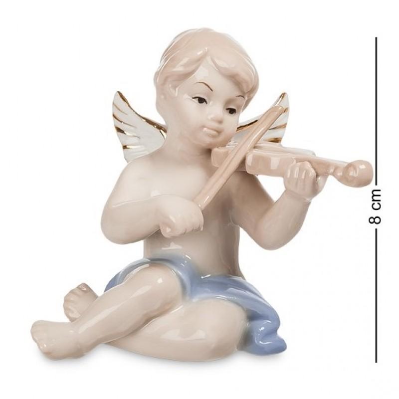 JP- 14/ 8 Фигурка ''Ангелочек- музыкант'' (Pavone)