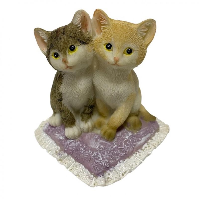 KEN78709  (1-48) Парочка кошек 9*9*11см