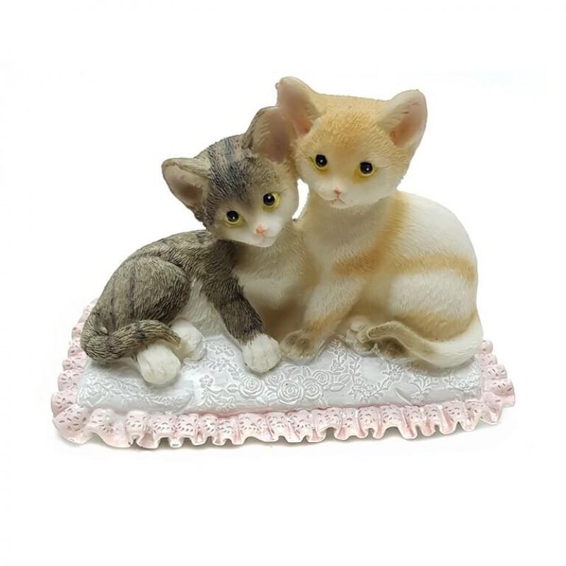 KEN78714  (1-36) Парочка кошек 13.5*8*9.5см
