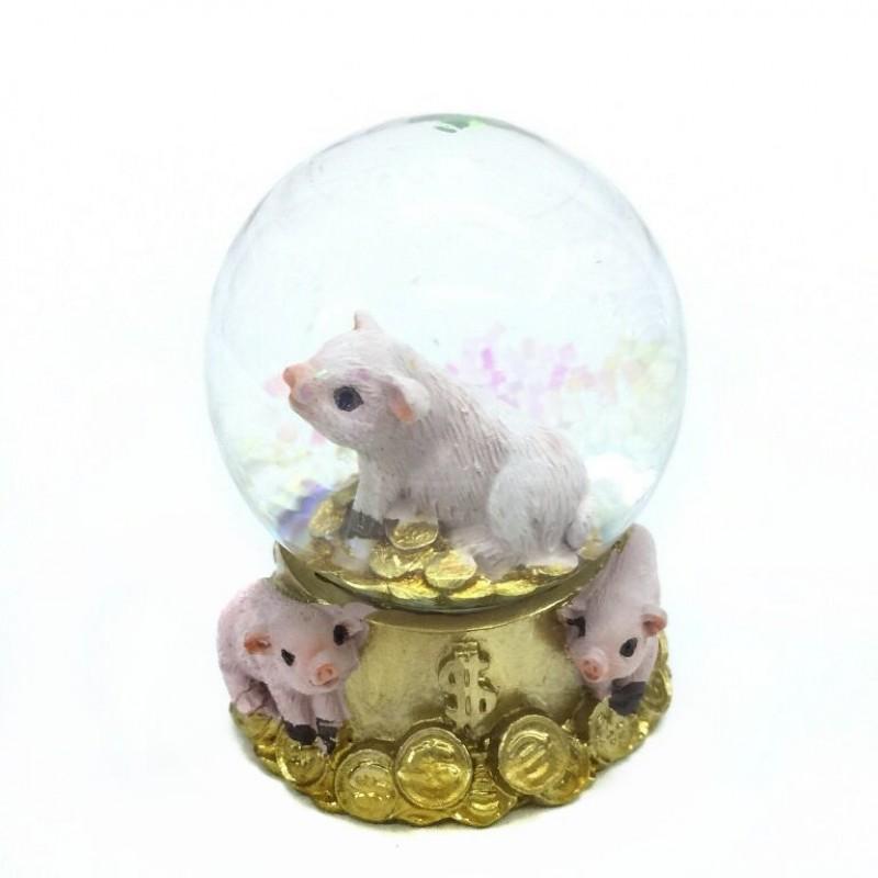 L53905  (4-96) Свинья в шаре 5*5*6см