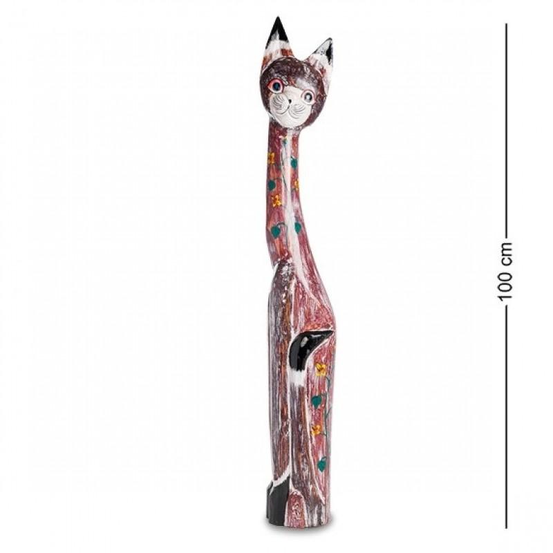 99-102 Фигурка Кошка 100см (албезия, о.Бали)