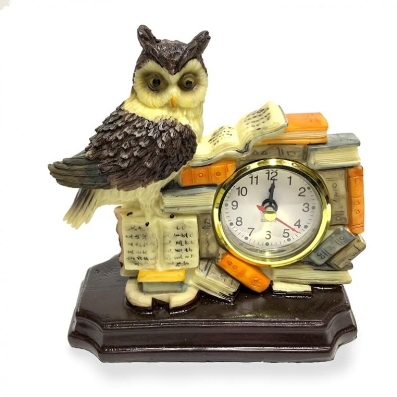 KH-1854  (36) Сова-часы  14*15см