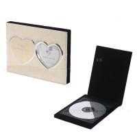 522617 (48) Фоторамка свадебная, футляр для CD,18см