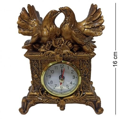 MML16125  (1-96) Часы с голубями 11*6.5*16 см